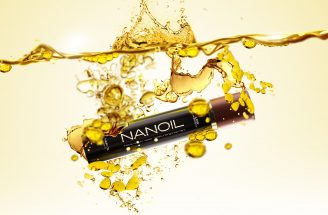 Nanoil oil for hair of various structure